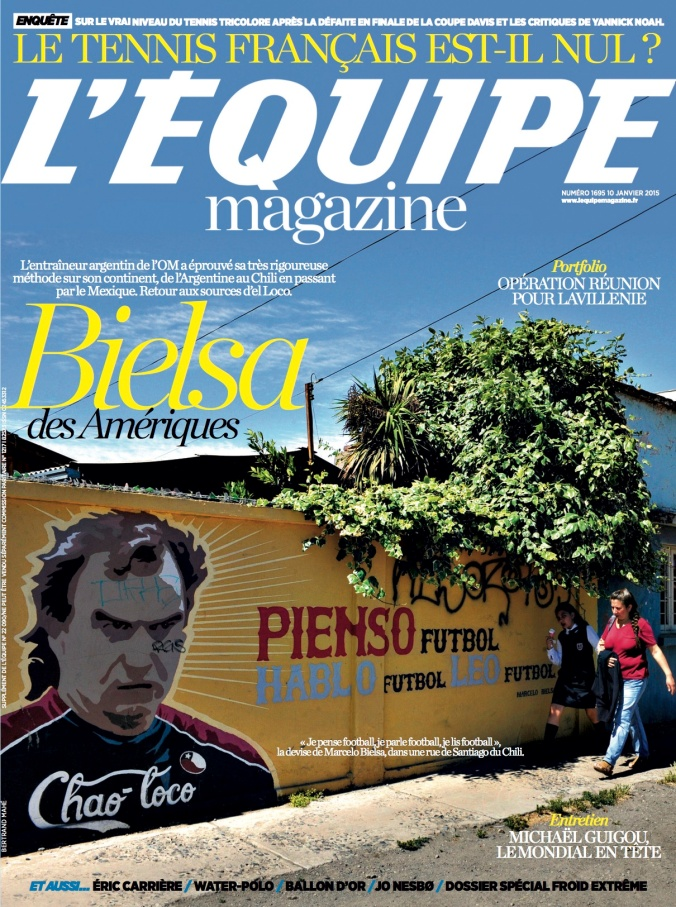 Bielsa - L'Equipe Mag (Couv)
