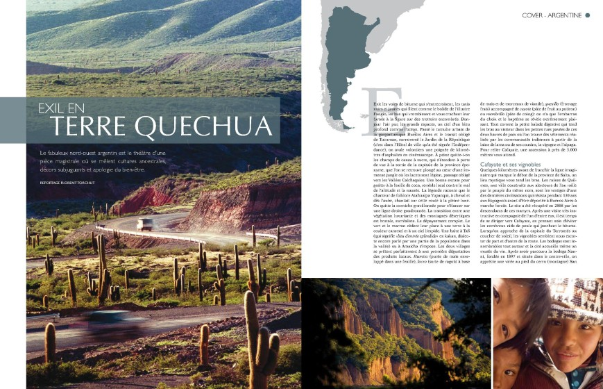 Voyages Voyages - N°163 - Exil en Terre Quechua